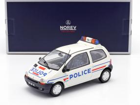 Renault Twingo police year 1995 white / blue 1:18 Norev