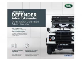 Land Rover Defender advent Calendar 2020: Land Rover Defender white 1:43 Franzis