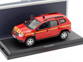 Dacia Duster fire Department year 2018 red / yellow 1:43 Norev