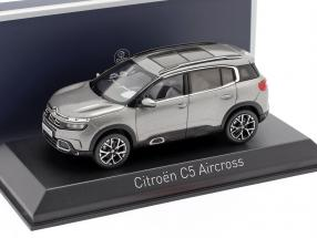 Citroen C5 Aircross year 2018 platinum grey 1:43 Norev
