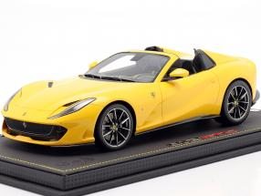 Ferrari 812 GTS year 2019 modena yellow 1:18 BBR
