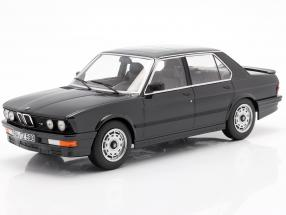 BMW M 535i year 1986 black metallic 1:18 Norev