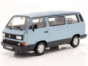 Volkswagen VW Multivan year 1990 light blue metallic 1:18 Norev