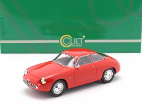 Alfa Romeo Giulietta Sprint Zagato (SZ) 1961 red 1:18 Cult Scale