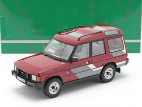 Land Rover Discovery Mk1 RHD year 1989 red / grey / white 1:18 Cult Scale
