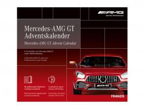 Mercedes-AMG GT Adventskalender 2020: Mercedes-Benz AMG GT rot 1:43 Franzis