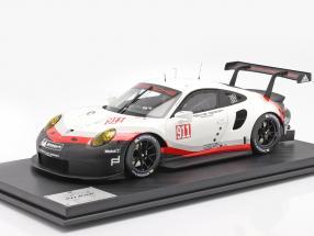 Porsche 911 (991 II) RSR #911 year 2017 white / black 1:8 Amalgam