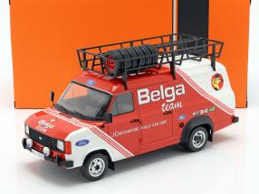 Ford Transit MK II 1979 Rallye Assistance Belga Team red / White 1:18 Ixo