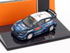 Ford Fiesta WRC #3 4th Rallye Portugal 2019 Suninen, Salminen 1:43 Ixo