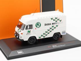 Avia A21F Van Rallye Assistance Skoda Motorsport white / green 1:43 Ixo