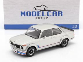 BMW 2002 Turbo (E20) Baujahr 1973 silber 1:18 Model Car Group