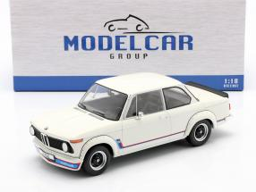 BMW 2002 Turbo (E20) Baujahr 1973 weiß 1:18 Model Car Group