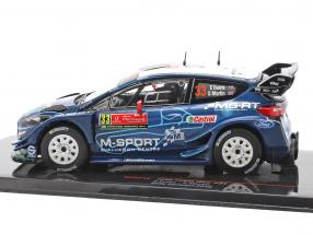 Ford Fiesta WRC #33 5th Rallye Portugal 2019 Evans, Martin
