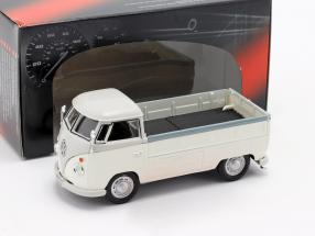 Volkswagen VW T1 Pick Up year 1960 white / grey 1:43 Cararama