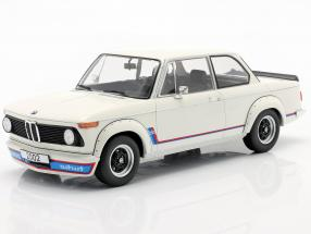 BMW 2002 Turbo (E20) year 1973 white 1:18 Model Car Group