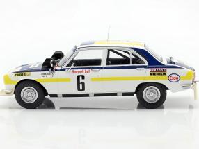 Peugeot 504 Ti #6 Winner Rallye Morocco 1975 Mikkola, Todt