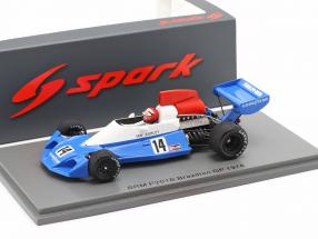 Ian Ashley BRM P201B #14 Brazilian GP formula 1 1976 1:43 Spark
