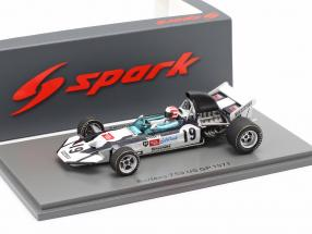 Sam Posey Surtees TS9 #19 USA GP formula 1 1971 1:43 Spark