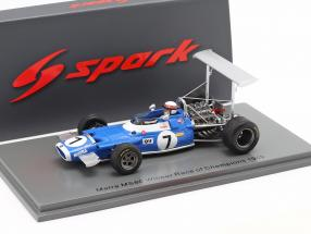 Jackie Stewart Matra MS80 #7 Winner Race of Champions 1969 1:43 Spark