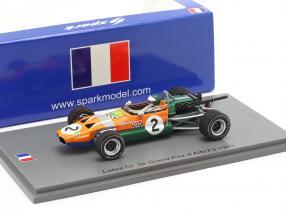 Jochen Rindt Lotus 59 #2 3rd Albi GP formula 2 1969 1:43 Spark