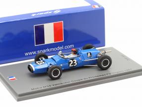 Roby Weber Matra MS5 #23 Winner Coupe du Printemps F3 Nogaro 1967 1:43 Spark