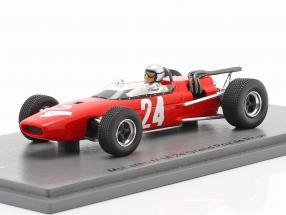 Bruce McLaren McLaren M4A #24 2nd Rouen GP formula 2 1967 1:43 Spark