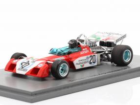 Andrea de Adamich Surtees TS9B #20 Argentinean GP formula 1 1972 1:43 Spark