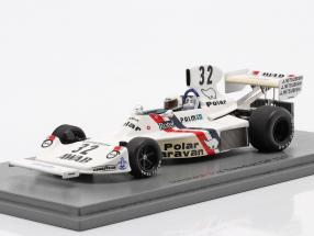 Torsten Palm Hesketh 308 #32 Swedish GP formula 1 1975 1:43 Spark