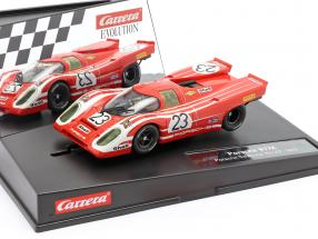 SlotCar Porsche 917K #23 winner 24h LeMans 1970 1:32 Carrera Evolution