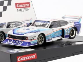 SlotCar Ford Capri Zakspeed Turbo #52 H. Ertl 1:32 Carrera Evolution