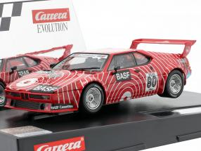 SlotCar BMW M1 Procar #80 Procar Series 1980 H.-J. Stuck 1:32 Carrera Evolution