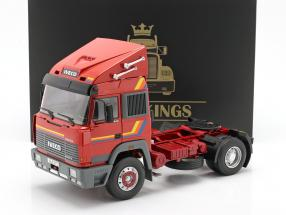 Iveco Turbo Star Truck year 1988 orange 1:18 Road Kings
