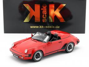 Porsche 911 Speedster year 1989 red 1:18 KK-Scale