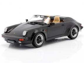 Porsche 911 Speedster year 1989 black 1:18 KK-Scale