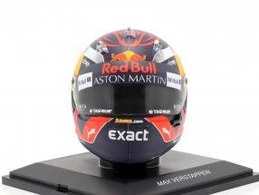 Max Verstappen #33 Aston Martin Red Bull Racing formula 1 2018 helmet 1:5 Spark