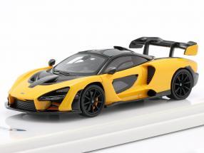 McLaren Senna year 2018 volcano yellow / black 1:43 TrueScale