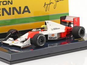 Ayrton Senna McLaren MP4/5B #27 World Champion Monaco GP F1 1990 1:43 Minichamps