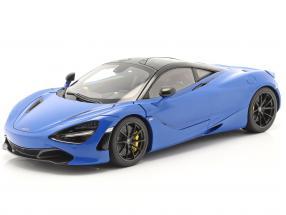 McLaren 720S year 2017 blue metallic 1:18 AUTOart