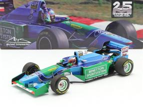 M. Schumacher Benetton B194 #5 Winner Hungarian GP F1 Worldchampion 1994 1:18 Minichamps