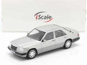 Mercedes-Benz E-Klasse (W124) Baujahr 1989 astralsilber 1:18 iScale