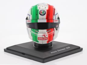 Antonio Giovinazzi #99 Alfa Romeo Racing Orlen formula 1 2020 helmet 1:5 Spark