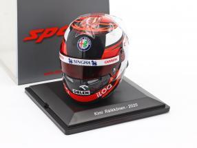 Kimi Räikkönen #7 Alfa Romeo Racing Orlen formula 1 2020 helmet 1:5 Spark