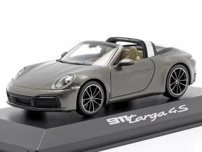 Porsche 911 (992) Targa 4 S dark grey metallic 1:43 Minichamps