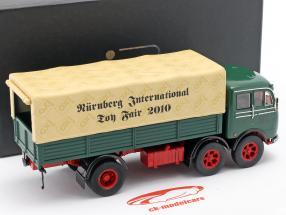 Mercedes-Benz LP 333 Toy fair Nuremberg 2010 green / beige 1:43 Ixo