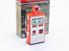 Tokheim 350 Phillips 66 Twin gas Pump year 1954 red / white 1:18 Greenlight