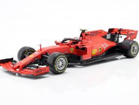 Charles Leclerc Ferrari SF90 #16 Winner Italian GP formula 1 2019