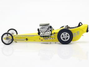 Greer-Black-Prudhomme Vintage Dragster yellow