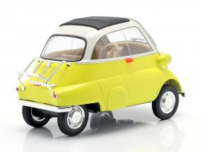 BMW Isetta 250 year 1959 yellow / white