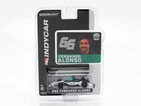 Fernando Alonso Chevrolet #66 Indycar Series 2020 Arrow McLaren SP 1:64 Greenlight