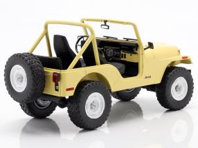 Jeep CJ-5 1980 TV series Charlie's Angels (1976-1981) yellow